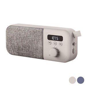Bærbar digital radio Energy Sistem Fabric Box FM 1200 mAh 3W Blå