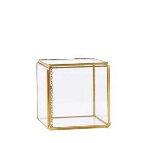 Box - Glas - Metal - Messing -