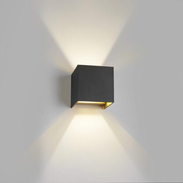 Box Mini Sort/Guld - LIGHT-POINT