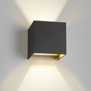 Box Sort/Guld - LIGHT-POINT