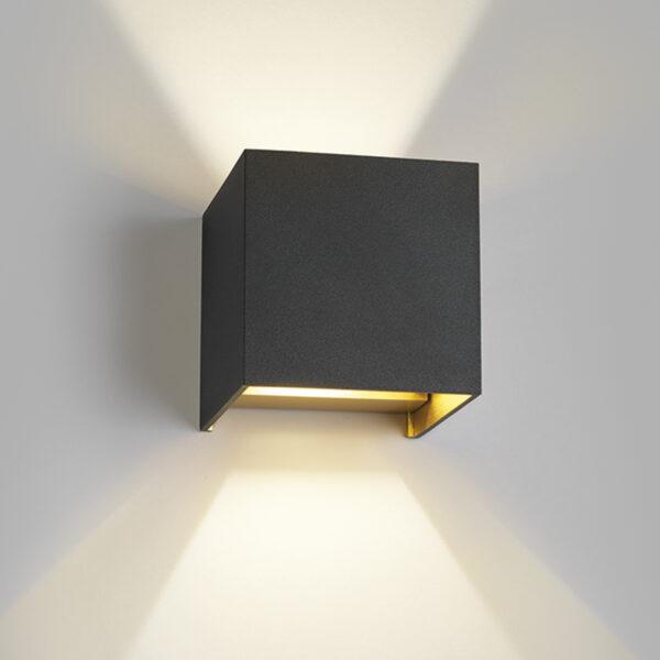 Box Sort/Guld - LIGHT-POINT