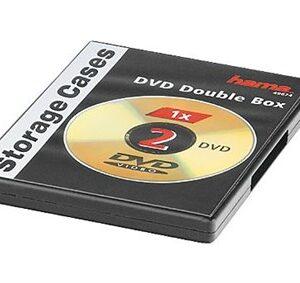 DVD-Box Dobbel Sort 5-pak