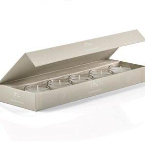 Fragrance Box, 5 scents, 6 timers brændetid