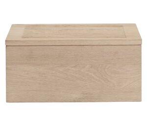 Gourmet Wood Box H16,5 x 20 x 35 cm - Oak