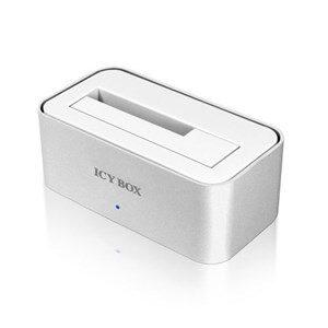 """ICY BOX USB 3.0 direkte docking til 2,5"""" og 3,5"""" SATA-harddiske, SATA"""