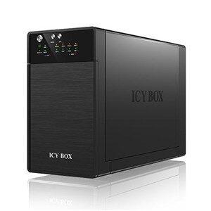 """ICY BOX eksternt RAID-kabinet for 2x3,5"""" SATA-harddiskar, SATA 6Gbit/s"""