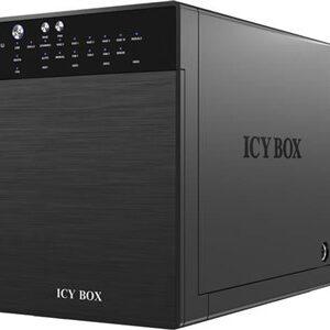 """ICY BOX eksternt RAID-kabinet til 4x3,5"""" SATA-harddiske, SATA 6Gb/s, U"""