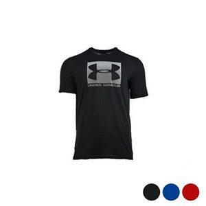 Kortærmet T-shirt til Mænd Under Armour Boxed Sportstyle Sort M