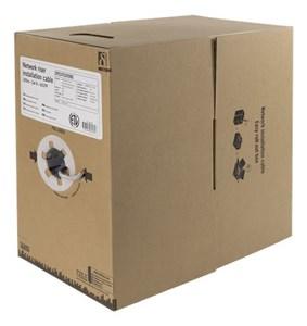 U/UTP Cat6 installation riser cable, 305m box, 250MHz, Delta c