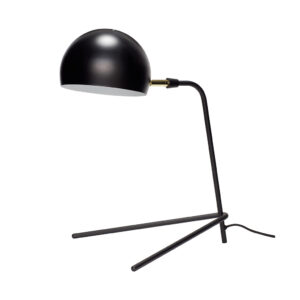 HÜBSCH bordlampe - sort metal