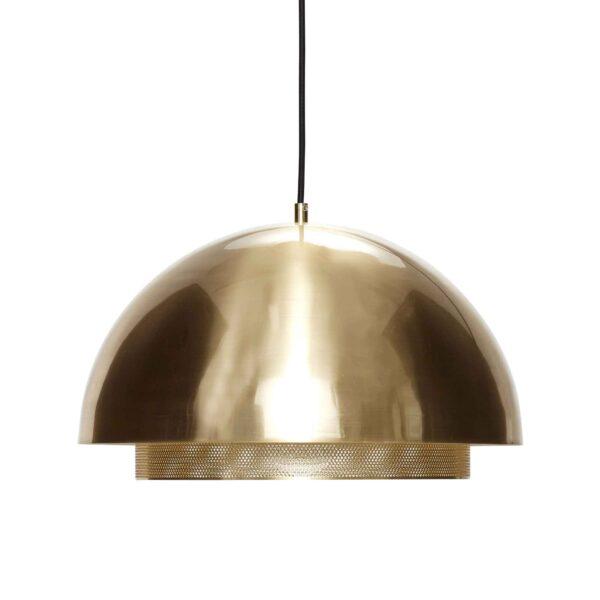 HÜBSCH loftlampe - messing, metal