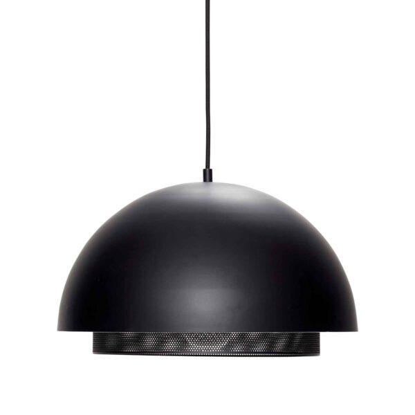 HÜBSCH loftlampe - sort/messing metal