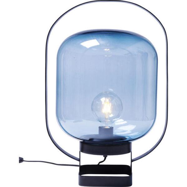 KARE DESIGN Bordlampe Jupiter Blå-Sort