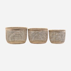 Basket, Shape mix, Set of 3 sizes