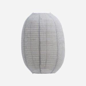 Lampshade, Stitch, Light grey, Handmade