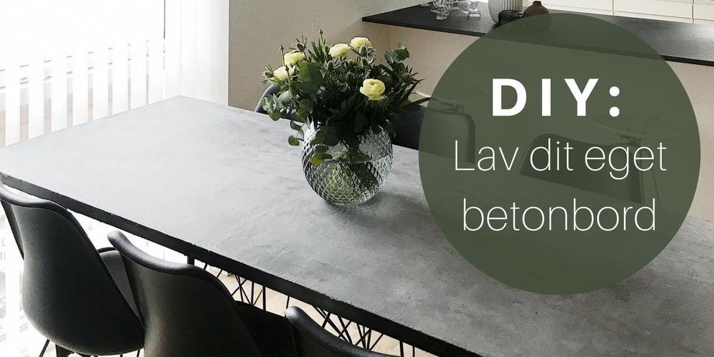 DIY-guide: sådan laver du et betonbord