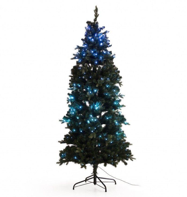 Juletræ med batteri LED lys