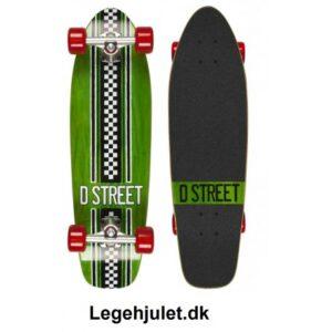 D-Street Longboard Bomber GRØN