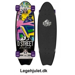 D-Street Longboard Stubby Burner