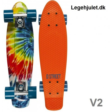 D-Street V2 Polyboard Orange Tie die