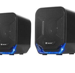 2.0 Jupiter USB 4 W Stereo portable speaker Black