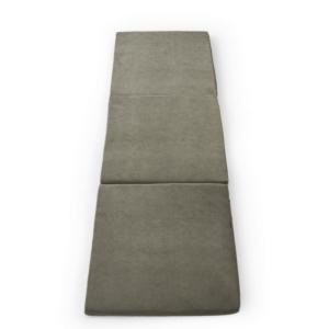 Misioo 3 fold madras grå