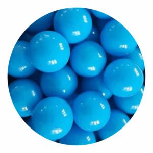 Misioo bolde i blå - 50 stk