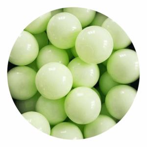 Misioo bolde i lysegrøn - 50 stk