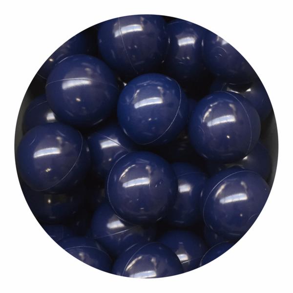 Misioo bolde i navyblå - 50 stk