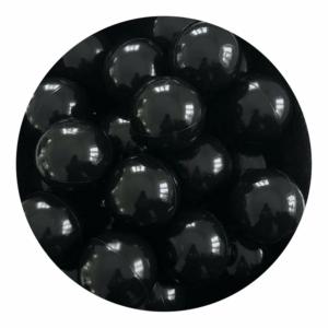 Misioo bolde i sort - 50 stk