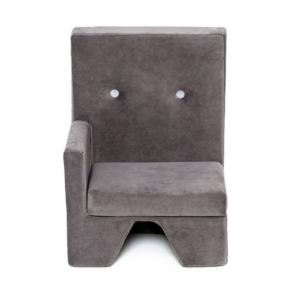 Misioo lænestol med armlæn til højre i grå