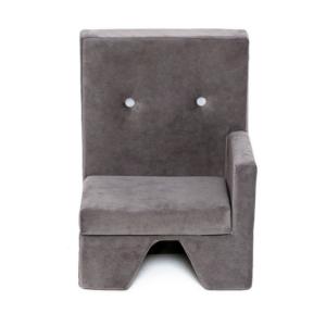 Misioo lænestol med armlæn til venstre i grå