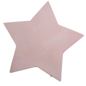 Misioo madras lyserød stjerne