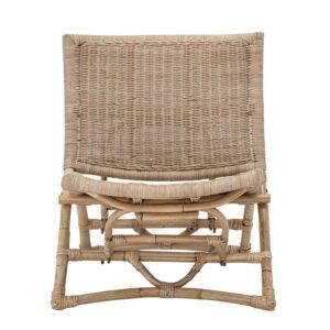 BLOOMINGVILLE Baz loungestol, foldbar - natur rattan