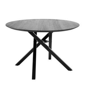 BLOOMINGVILLE Connor spisebord - sort eg (Ø118)